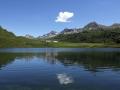 1.Lago Cadagno con nuvoletta