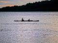 Kavieng - canoe al tramonto 78